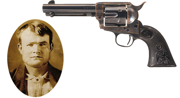 Butch Cassidy Colt .45