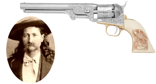 Wild Bill Hickok and his Smith & Wesson Pistol