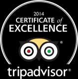 Trip Advisor Dude Ranch Certificate of Excellence 2014