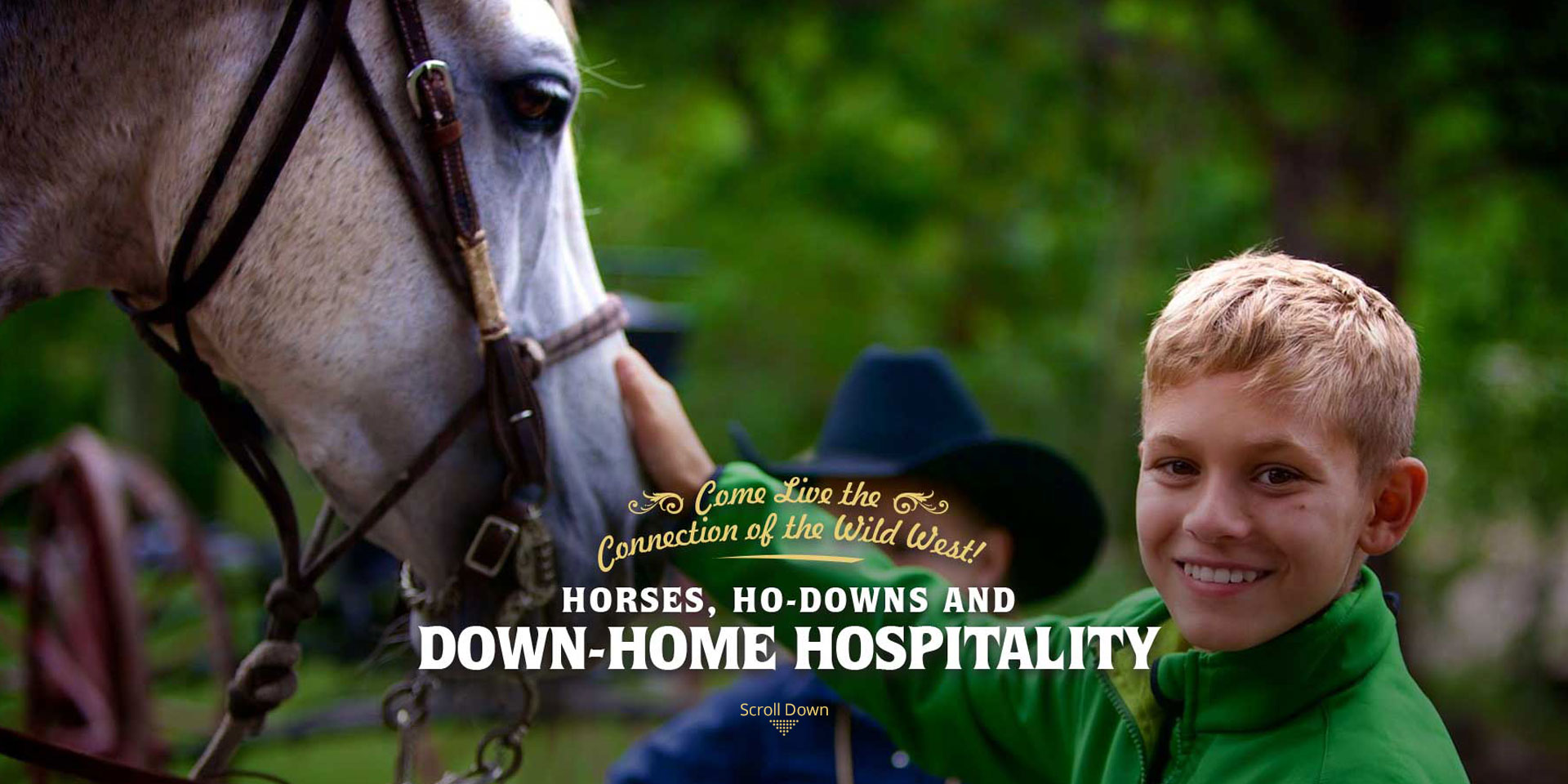 Horses Ho Downs and Down Home Hospitality