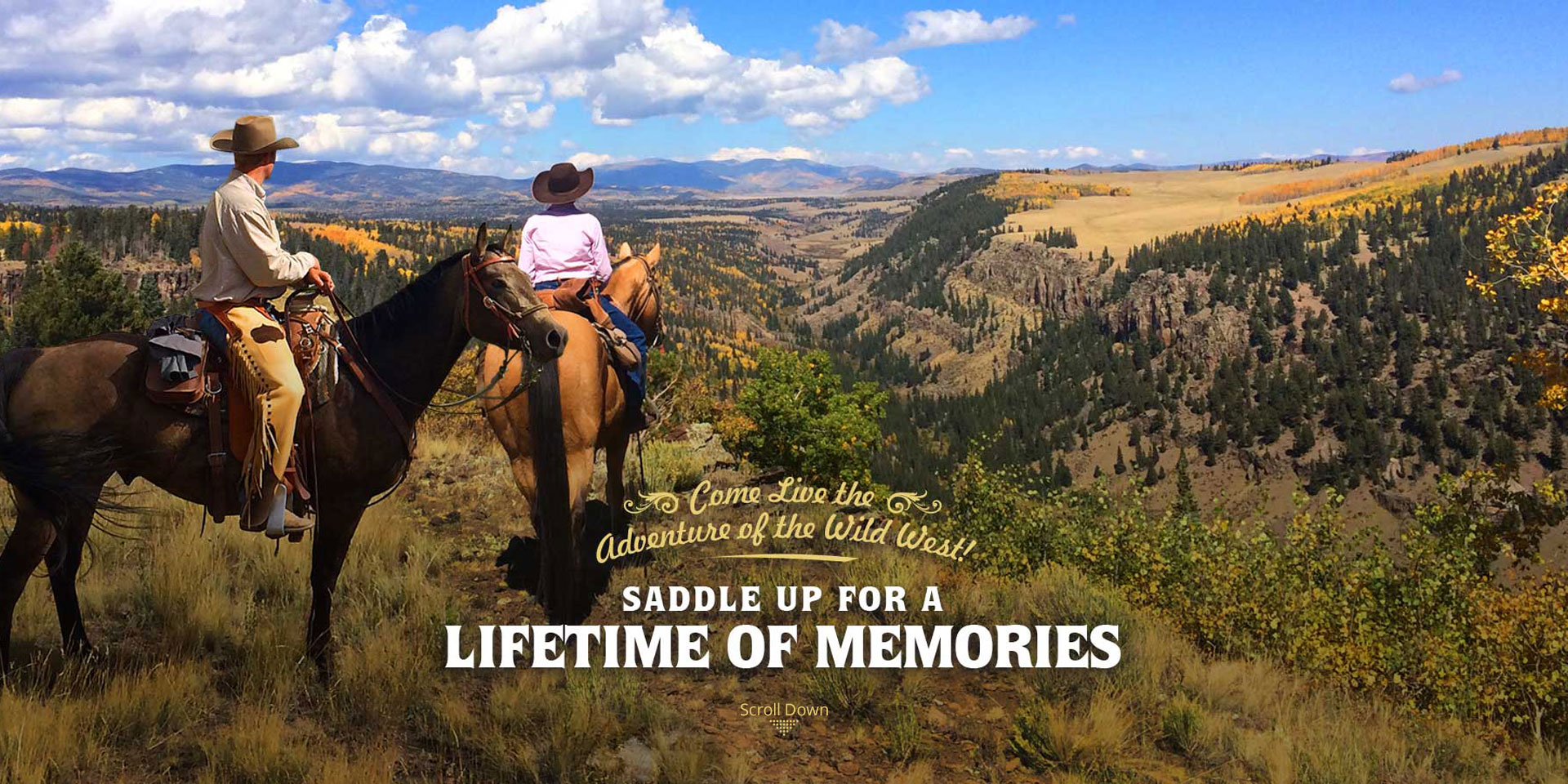 Saddle Up for a Lifetime of Memories